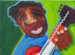 """Artist reception for """"The Color of the Blues"""""""