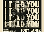 Tory Lanez - I Told You Tour with VeeCee