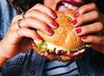 The veggie burger that bleeds.