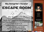 Miss Peregrine Themed Escape Room