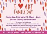 I ♥ Art Family Day
