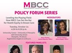 "Breast Cancer Policy Forum: ""Leveling the Playing Field: How MBCC Can Set the Bar for Health Equity in Breast Care"""