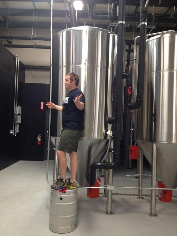 Sneak Peek at Wiseacre Brewing Company