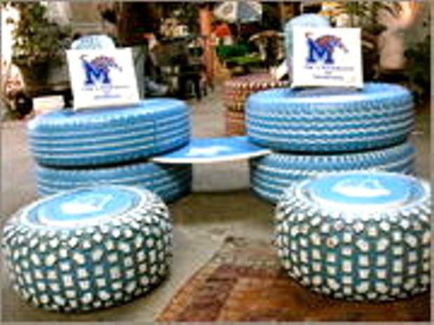 Tad Pierson S Fantastic Tire Furniture Slideshows Memphis News