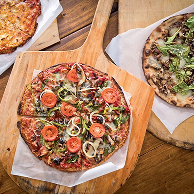 The Best Gluten Free Pizza In Memphis Food Wine News And Events Flyer