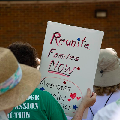 Families Belong Together Rally Draws 500 to Protest Trump Immigration Policies