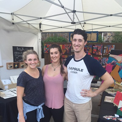 Festival-goers at Cooper-Young
