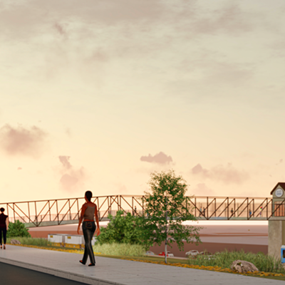 Proposed Pedestrian Bridge to Bass Pro Shops at the Pyramid