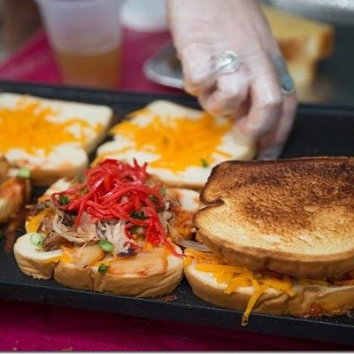 Grilled Cheese Festival at the Hi-Tone