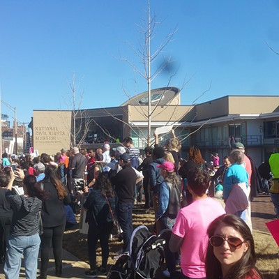 Shots from The Memphis Women's March