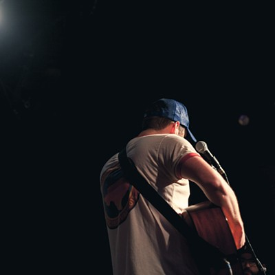 Andy Hull and Dustin Kensrue at The Hi-Tone