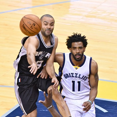Grizzlies vs. Spurs, Game 6