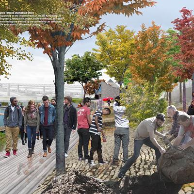 Studio Gang's Riverfront Vision