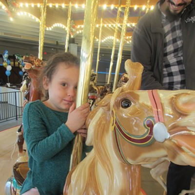 Carousel, Jingle Bell Ball, Le Jardin