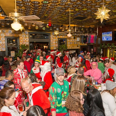 Stumbling Santa Pub Crawl 2017