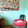 Tad Pierson's Fantastic Tire Furniture