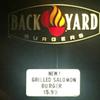 "Have You Tried Backyard Burger's ""Grilled Salomon"" Burger?"