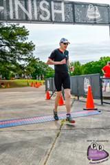 Tom Ratliff at the Memphis in May Triathlon 2017.