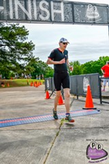 Tom Ratliff at the Memphis in May Triathlon 2017.