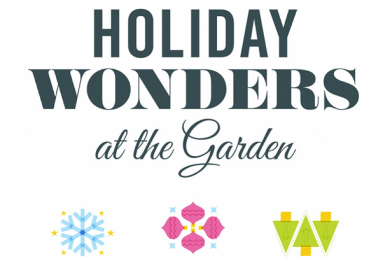 Holiday Wonders At The Garden Memphis Botanic Garden Holiday Events Memphis News And