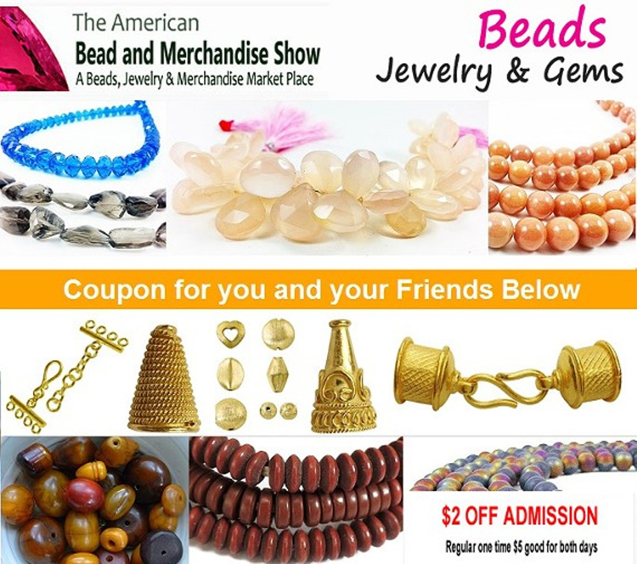 Beads, Jewelry, And Gem Show