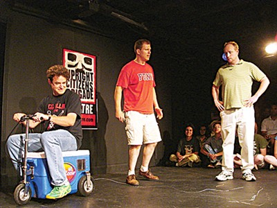 Upright Citizens Brigade improv show