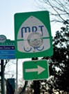 Vandalized signs for the Mississippi River Trail will be replaced.