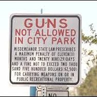 Veto the Guns-in-Parks Bill, Governor