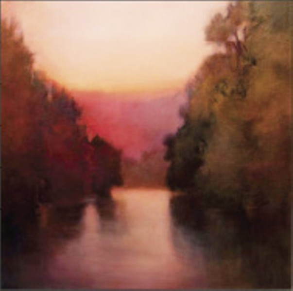 View From the Bridge, by Linda Disney: on view at David Lusk Gallery through May 30th