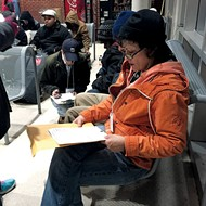 Volunteers Take Census of City's Homeless Population