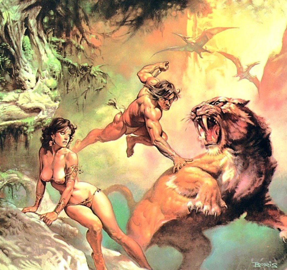 Were guessing — okay, maybe hoping — that Craig Brewers Tarzan might look something like this.