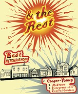 Were you one of the 90,000 or so to pack into the Cooper-Young Festival a couple weeks ago? Theres no denying it: The festival draws the crowds, and the neighborhood  with its sweet homes, vibrant restaurant and business district, and wonderful walkability  once again draws the votes to win this category. - ALEX HARRISON