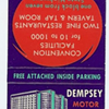 Where Was the Dempsey Motor Hotel in Memphis?