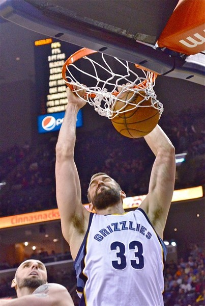 Marc Gasol's mental state has clearly been uneven, but is that really all that's going on? - LARRY KUZNIEWSKI