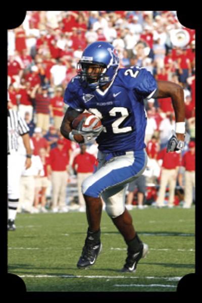 wide receiver Duke Calhoun - BY JOE MURPHY