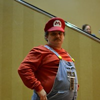 MidSouthCon 32 William Curtis, dressed as Mario, is a volunteer with MidSouthCon. Lisa Elaine Babb