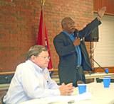 JB - William (l) and Morris at this week's GOP forum
