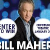 Win Tickets to Bill Maher at the Orpheum
