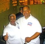 JB - Winner Lowery, with wife Mary.