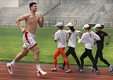 Yao Ming was thrown off-track by the Griz.