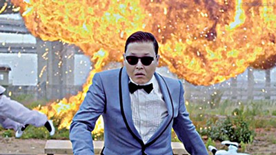 YouTube sensation Psy