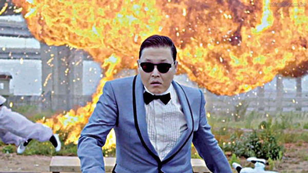 YouTube sensation Psy