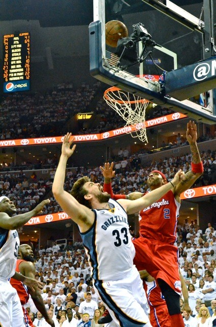 Zach Randolph and Marc Gasol probably didnt share the floor enough in the seasons final quarter.