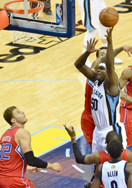Zach Randolph regained his all-NBA form back home. Can it travel?