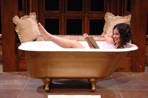 Zulimar Lopez-Hernandez as Musetta in Opera Memphis La Boheme