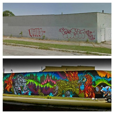10 Amazing Before and After Graffiti Murals