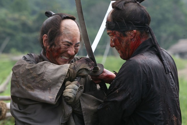 "13 Assassins: ""My, you're quite the handsome devil."""