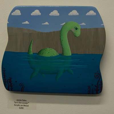 25 Artists and Art at Cryptozoology Art Show