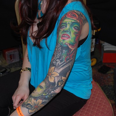 31 great pics from the Motor City Tattoo Expo