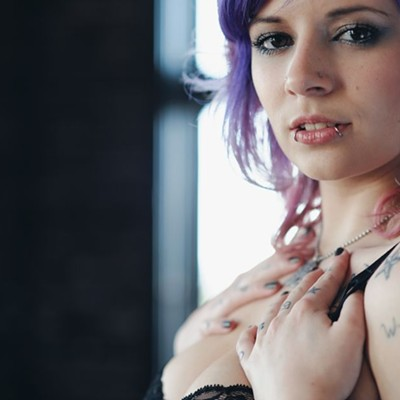 49 pictures previewing the Suicide Girls Detroit show (NSFW)